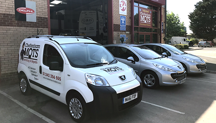 Cheltenham MOTs Ltd - Courtesy cars and vans